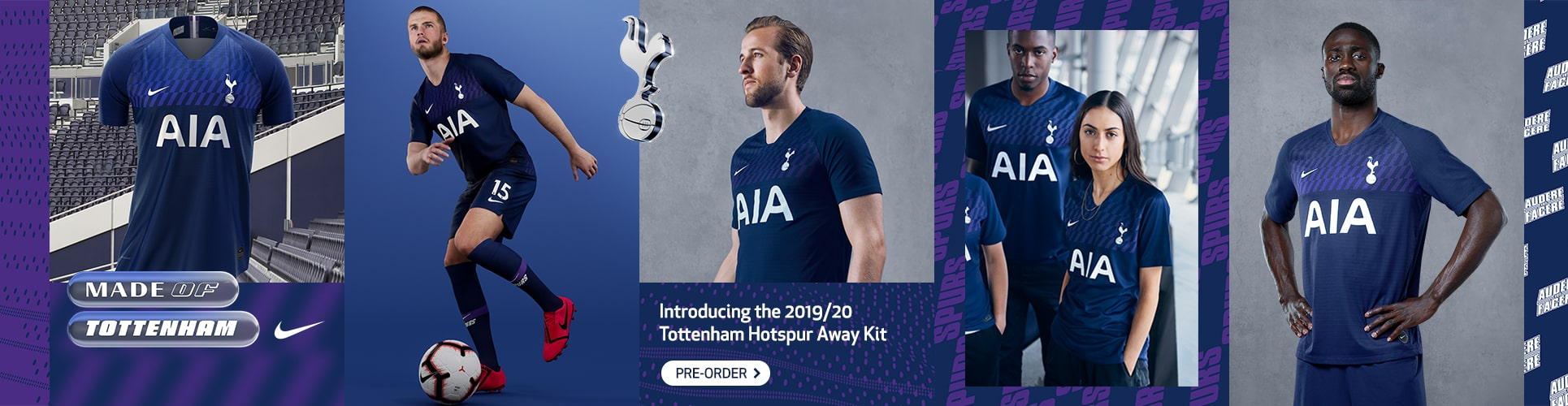 ae80edd6 Spurs Kit 2019/20 OUT NOW! | Official Spurs Shop | Free Delivery