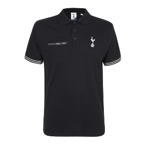 Spurs Mens Silver Cockerel Polo Shirt