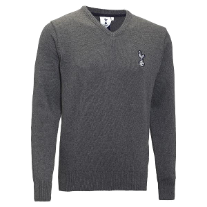 Spurs V Neck Knitted Jumper