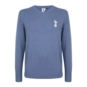 Spurs V-Neck Knitted Jumper