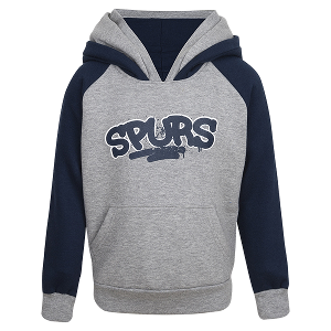 Spurs Boys Double Hooded Jumper