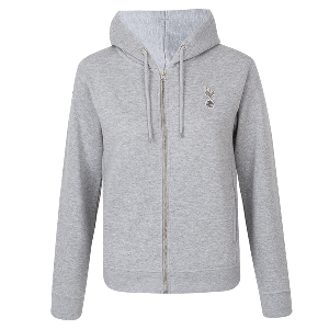 Kids Girls Essential Full Zip Hoodie