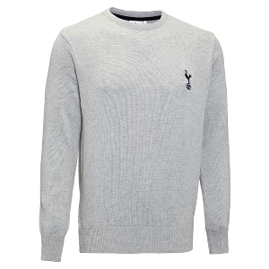 Spurs Crew Neck Knitted Jumper