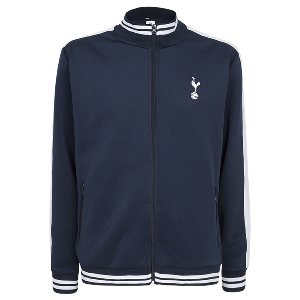 Spurs Mens Contrast Stripe Track Jacket