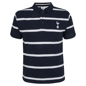 Spurs Mens Wash Stripe Polo