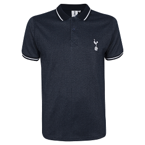 Spurs Mens Navy Golf Polo