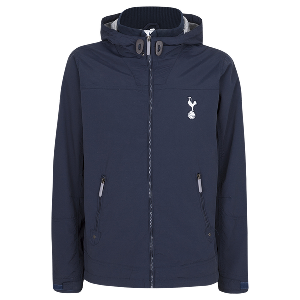Spurs Mens Hooded Zip Pocket Jacket