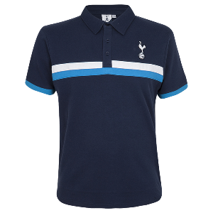 Spurs Mens Two Chest Stripes Polo