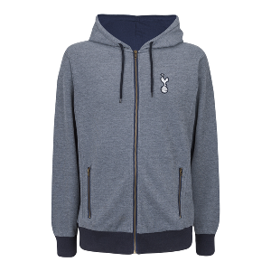 Spurs Fleck Hooded Top