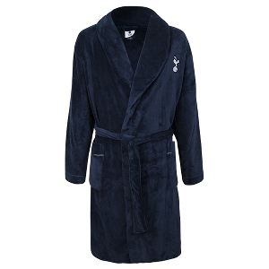 Spurs Mens Fleece Robe