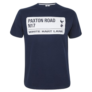 Spurs Mens Paxton Road Streetsign T-shirt