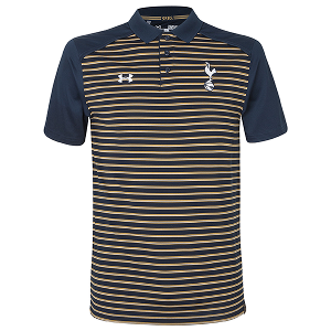 Spurs Mens Under Armour Stripe Polo 2016/2017