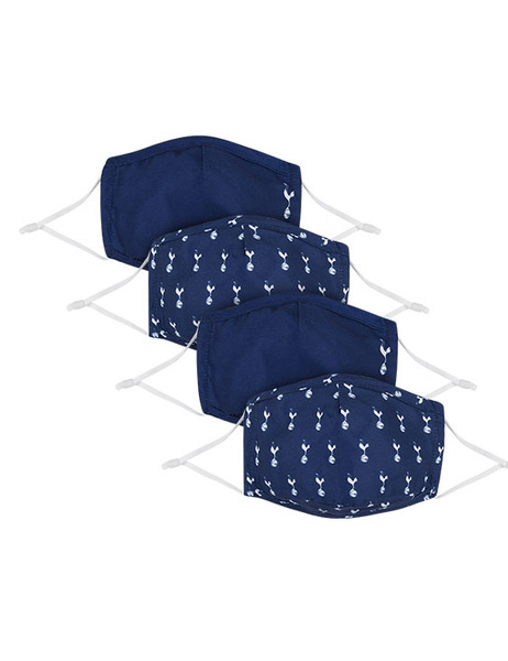 PACK OF 4 SHAPED FACE COVERS