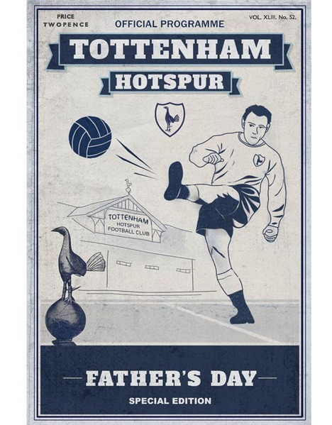 SPURS FATHERS DAY CARD