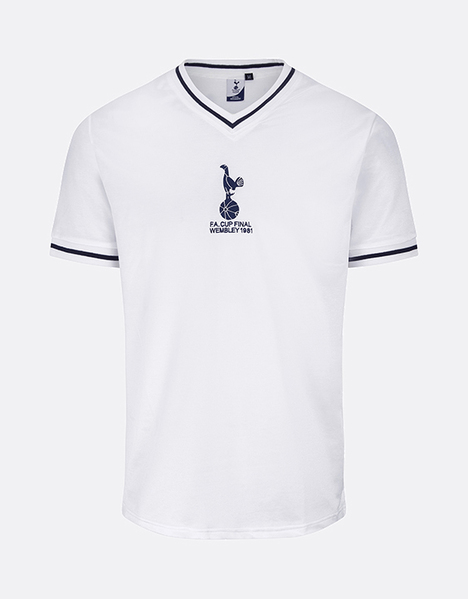 Spurs Mens 1981 Home FA Cup Final Shirt  9f4c06691