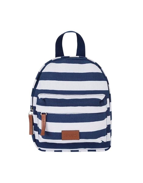 STRIPE SMALL CANVAS BACKPACK