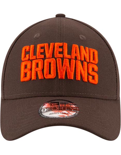 NEW ERA CLE BRN 9FORTY LEAGUE CAP