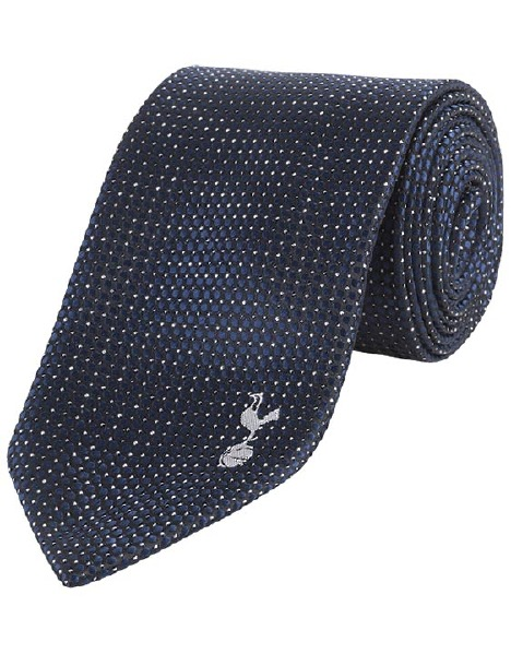 PIN DOT POLYESTER TIE