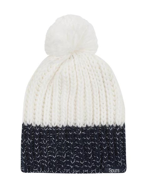 LADIES CONTRAST BOBBLE HAT