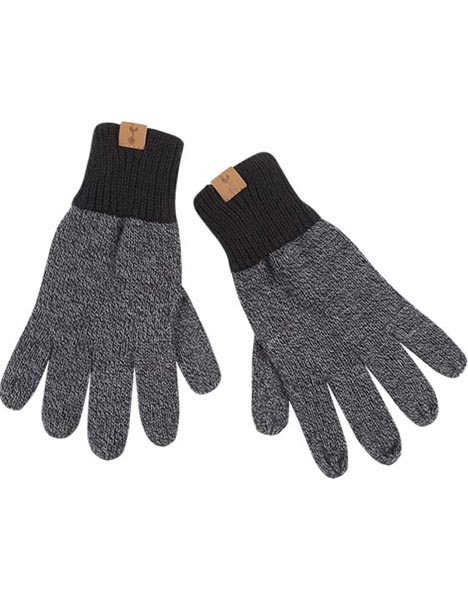 ADULT TAB MIXED MARL GLOVES