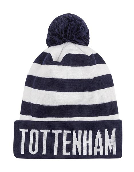 ADULT BAR STRIPE BOBBLE HAT