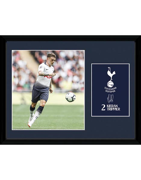 2018/19 TRIPPIER FRAMED PICTURE