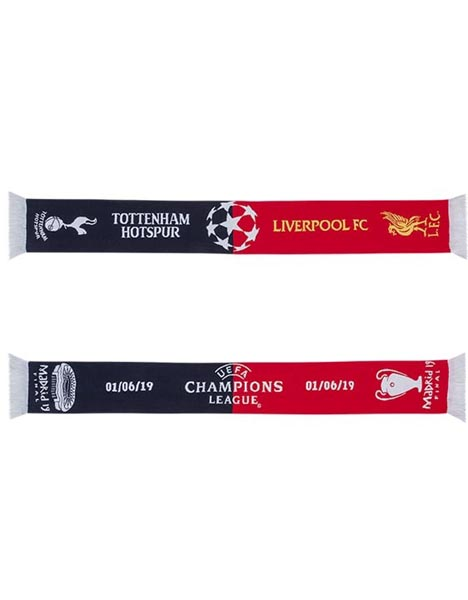 CHAMPIONS LEAGUE FINAL SCARF