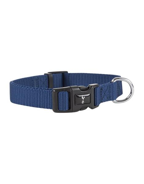 MEDIUM NAVY DOG COLLAR