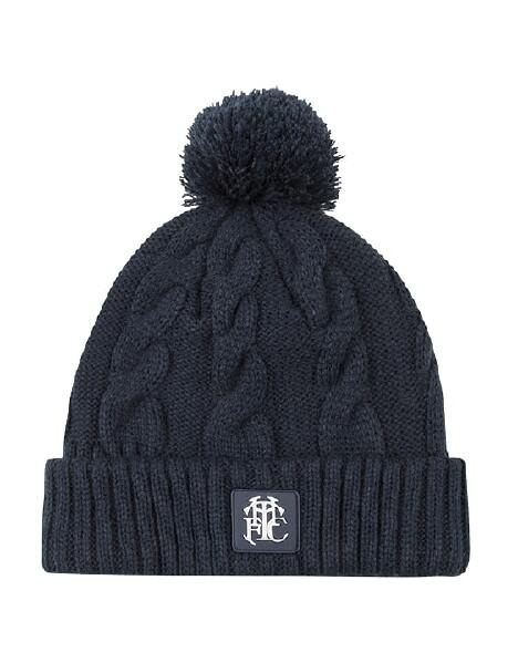 SPURS NAVY CABLE BEANIE