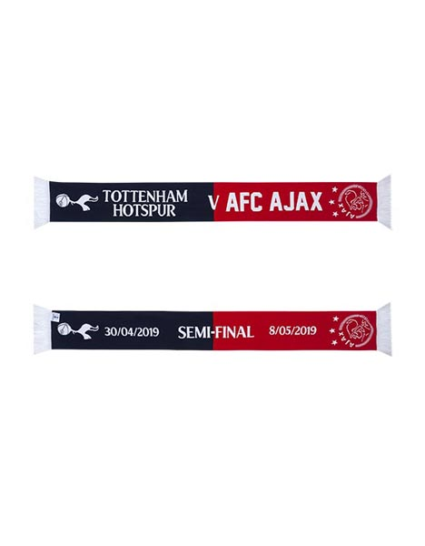 SEMI FINAL SPURS V AJAX FRIENDSHIP SCARF
