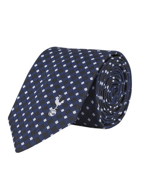 NAVY/WHITE CROSS OVER TIE