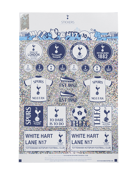 SPURS TH29912 SHINY STICKERS