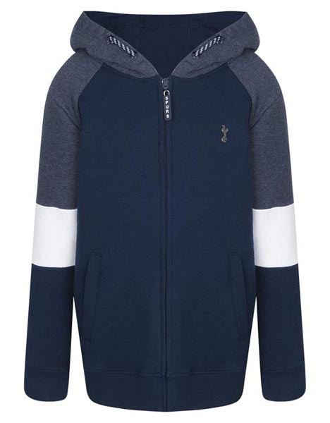 Spurs Kids Colour Panel Hoddie