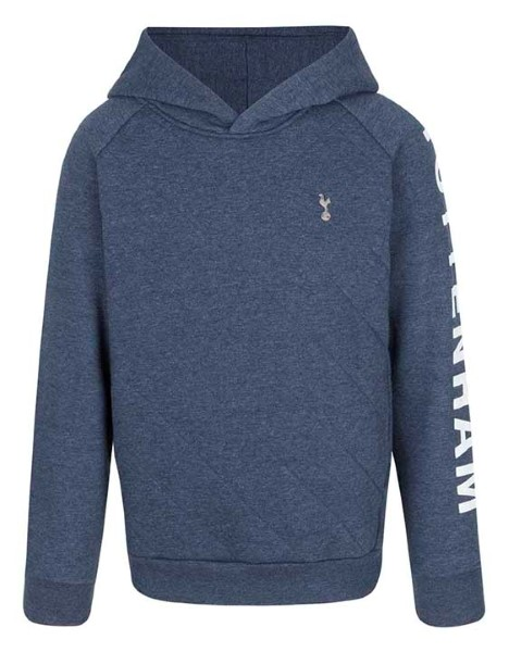 Spurs Boys Quilted Front Hoodie