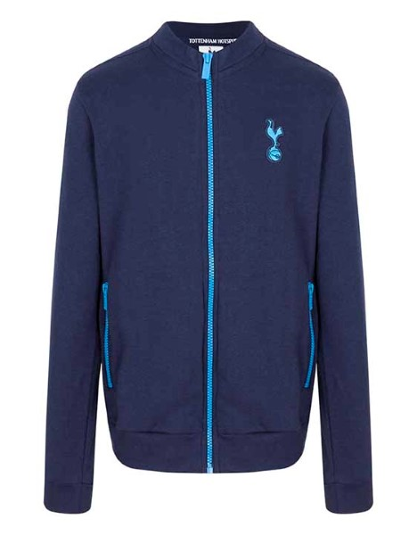 Spurs Boys Contrast Zip Track Jacket