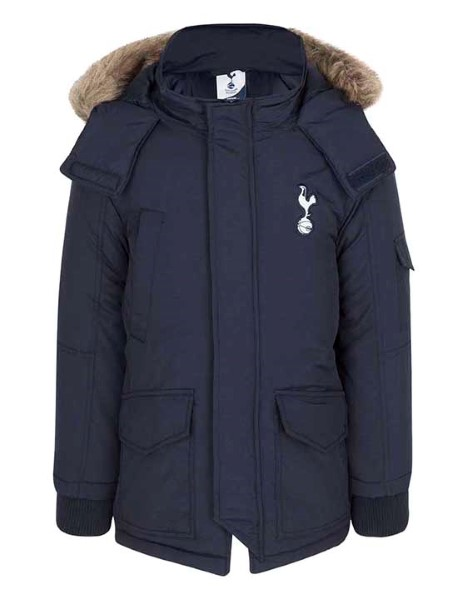Spurs Boys Padded Parka