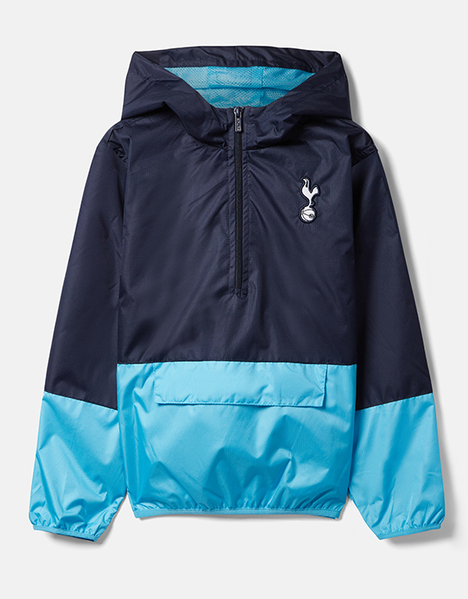 Spurs Boys Showerproof Quarter Zip Jacket