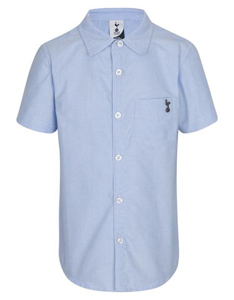 Spurs Kids Short Sleeve Chambray Shirt