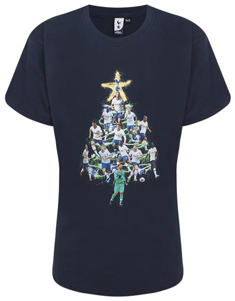 Spurs Kids Player Christmas Tree T-Shirt