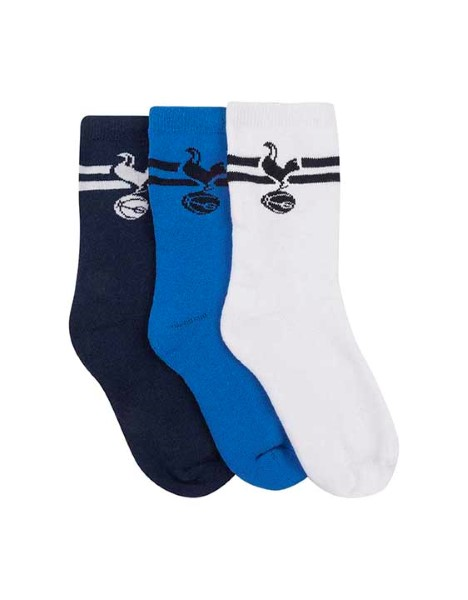 Spurs Boys 3 Pack Sport Socks