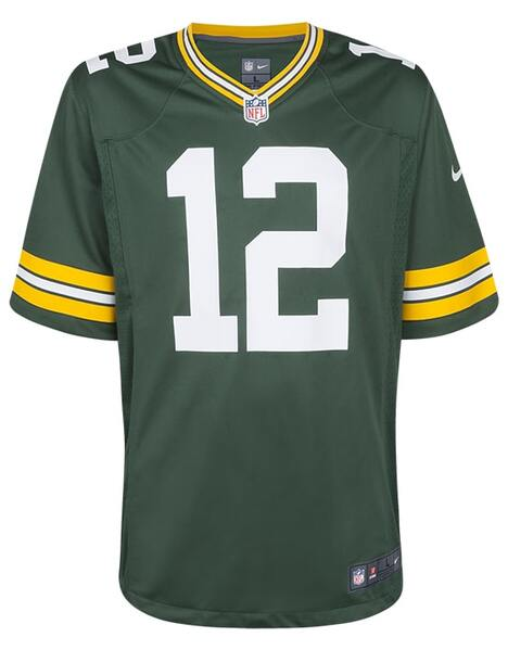 Nike Adult Green Bay Packers Aaron Rodgers NFL Jersey