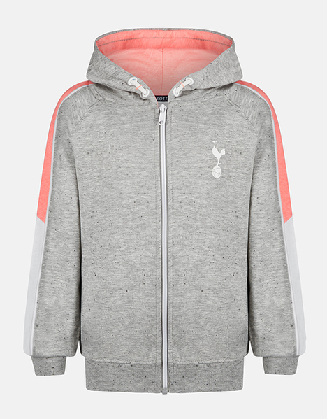 Youth Girls Salt And Pepper Hoodie