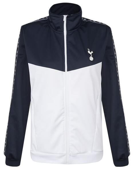 Spurs Womens Tape Detail Zip Up Jacket
