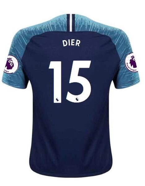 Spurs Nike Adult Dier Print Away Shirt 2018/19