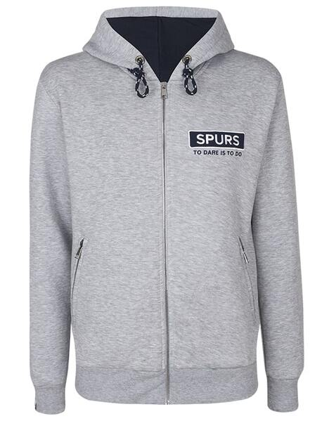 Spurs Mens Embroidered Hoodie