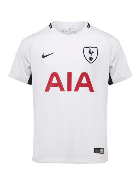 51f5e1491 Spurs 2017 18 Home Shirt