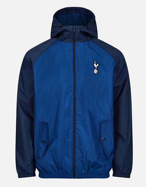 Spurs Mens Contrast Sleeve Showerproof Jacket