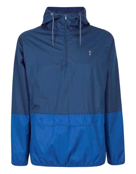 Spurs Mens Showerproof Quarter Zip Jacket 575fa70ef