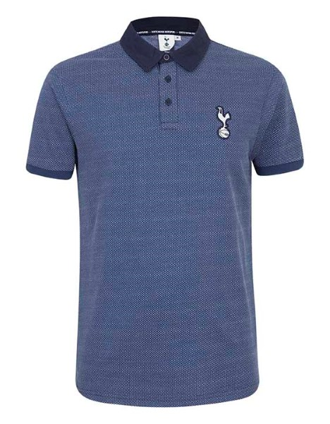 Spurs Mens Small Birdseye Polo