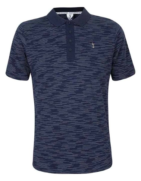 Spurs Mens Space Dyed Polo